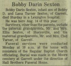 Bobby Darin Sexton 1972 1972 Find A Grave Memorial
