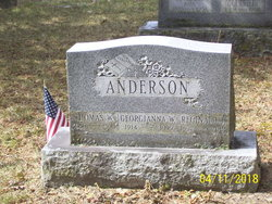 Georgianna <I>West</I> Anderson
