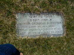 Martha <I>Grossman</I> Rubinstein