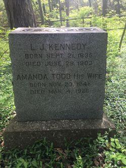 Amanda Todd Kennedy 1841 1926 Find A Grave Memorial