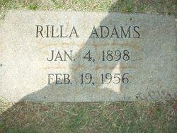 Rilla Adams