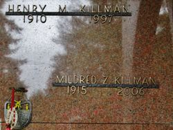 Mildred Z <I>Loman</I> Killman