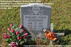 Margaret <I>Stokes</I> Henderson