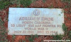 2LT Adrian Vernon Knox