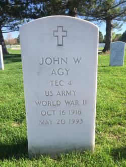 John W Agy