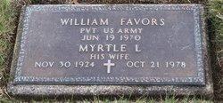 Myrtle L <I>Crockett</I> Favors