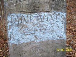 Jane <I>Cole</I> Vires