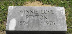 Winnie <I>Love</I> Peyton