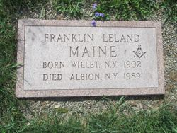 Franklin Leland Maine
