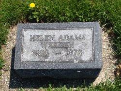 Helen <I>Adams</I> Weeden