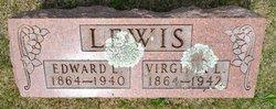 """Virginia Lee """"Jennie"""" <I>O'Bannon</I> Lewis"""