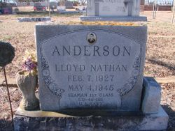 Lloyd Nathan Anderson