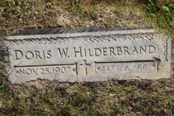 Doris W. <I>Windsor</I> Hilderbrand