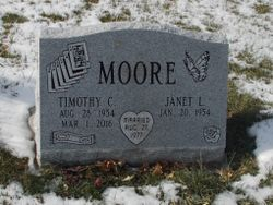 """Timothy Clyde """"Timmy"""" Moore"""