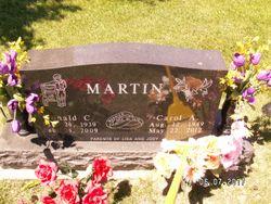 Carol A <I>Boulting</I> Martin