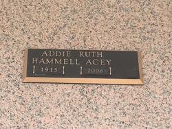 Addie Ruth Acey
