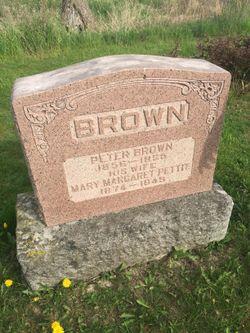 Mary Margaret <I>Pettit</I> Brown