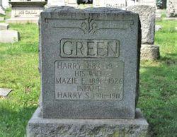 Mazie Ellen <I>Spangler</I> Green