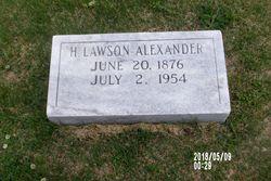 H. Lawson Alexander