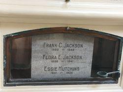 Flora Essie <I>Hutchins</I> Jackson