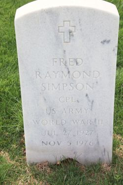 Fred Raymond Simpson