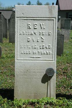 Rev Abijah Peck