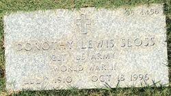 Dorothy <I>Lewis</I> Sloss
