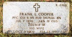 Zelma Marie Cooper