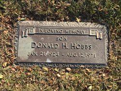 Donald H Hobbs