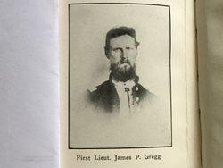Lieut James Potter Gregg