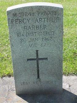 Percy Arthur Barber
