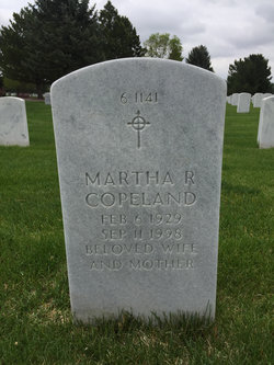 Martha R Copeland