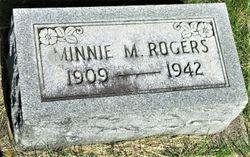 Minnie Mildred <I>Malott</I> Rogers
