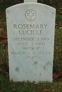 Rosemary Lucille <I>Koch</I> Spiger