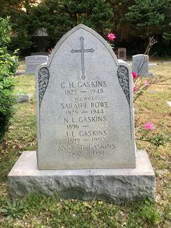 Annie Elizabeth <I>Dupree</I> Gaskins