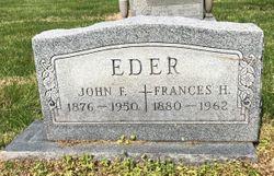 Frances H. <I>Schoenhofer</I> Eder