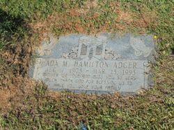 Ada M <I>Hamilton</I> Adger