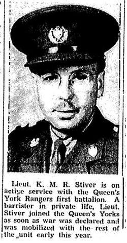 Kenneth M R Stiver