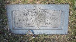 Mabel Emmeline <I>Donaldson Young</I> Hansen