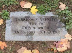 Theresa F. <I>Affeldt</I> Brooks