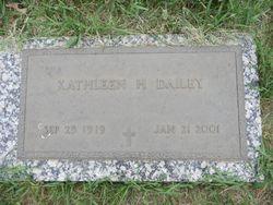 Kathleen H. <I>Teichmann</I> Dailey