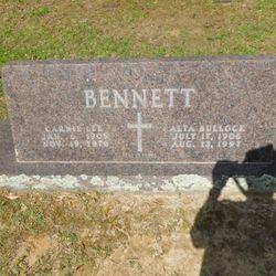 Alta <I>Bullock</I> Bennett