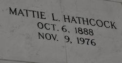 Mattie Louise <I>Alley</I> Hathcock