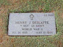 Henry Joseph Deslatte