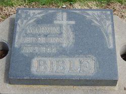 2LT Marvin J Bible