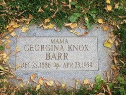 Georgina <I>Knox</I> Barr