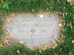 Clara Amelia <I>Engholm</I> Nicholson