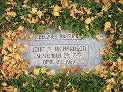 John Newman Richardson