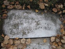 Pearl Mildred McDowell