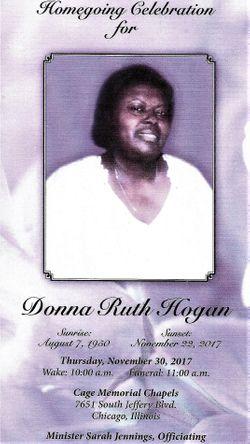 "Mrs Donna Ruth ""Penny"" Freeman Hogan (1950-2017) - Find A Grave ..."